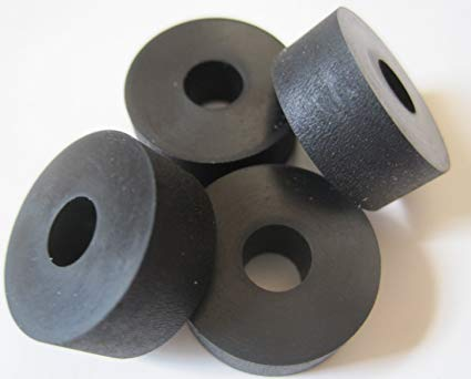 sizes of rubber washers